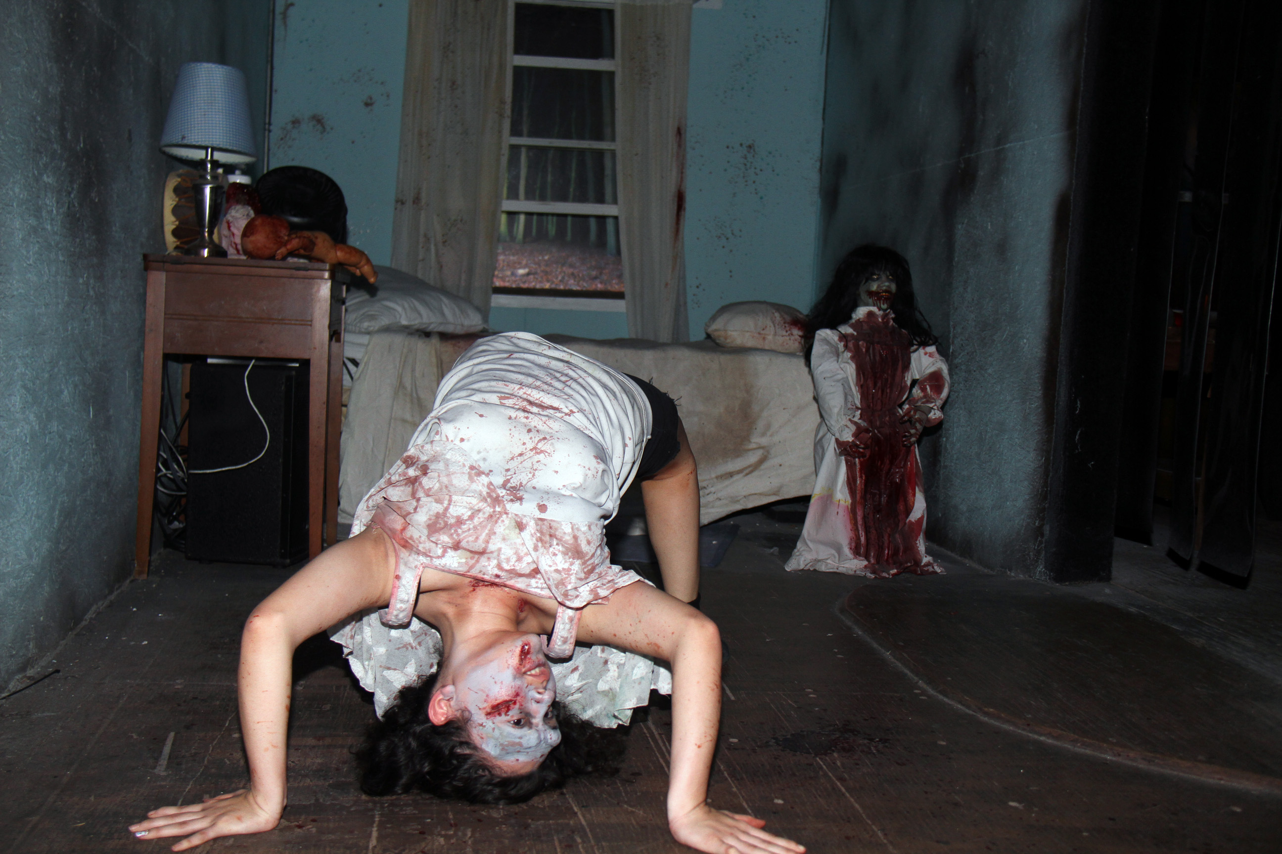 House of horror una experiencia inolvidable wow la for Cuartos para nina de 11 anos modernos
