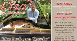 Póster concierto Enrique Chía
