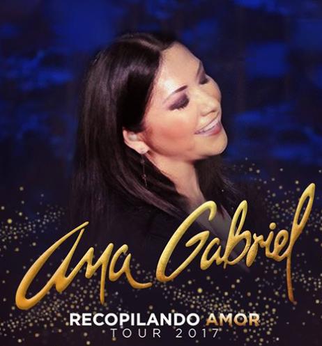 Ana Gabriel De Gira Por Usa Recopilando Amor 2017 Wow La Revista