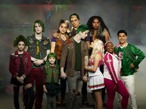 "ZOMBIES 2 - Disney Channel's ""ZOMBIES 2"" stars Kylee Russell as Eliza, James Godfrey as Bonzo, Kingston Foster as Zoey, Ariel Martin as Wynter, Pearce Joza as Wyatt, Milo Manheim as Zed, Meg Donnelly as Addison, Chandler Kinney as Willa, Carla Jeffery as Bree, and Trevor Tordjman as Bucky. (Disney Channel/Ed Herrera)"
